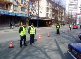 """37 годишен рязал гумите по бул. """"Христо Ботев"""", спипаха го"""