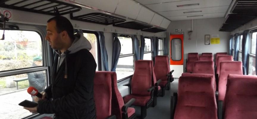 Утре: БДЖ пуска пет допълнителни вагона за теснолинейката