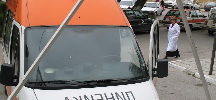 Полицейска кола бе блъсната от Форд