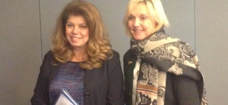 Илияна Йотова се среща с министър на Бавария