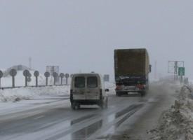 """Тир затапи магистрала """"Тракия"""" при Вакарел"""