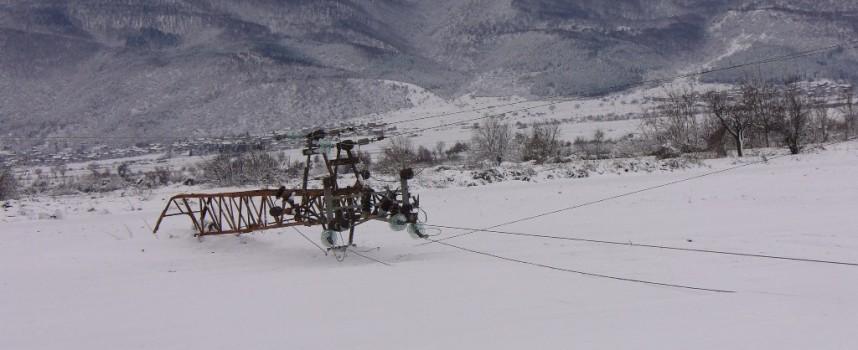29 села са без ток в областта, пет училища пуснаха децата