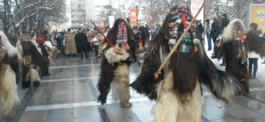 Кукерите и битовата група на Лесичово се стягат за празник в София