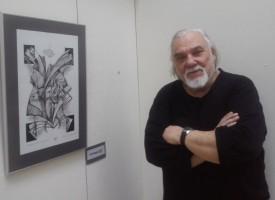 """Петнадесетата изложба на Марин Маринов """"Графични инсталации"""" е посветена на България"""