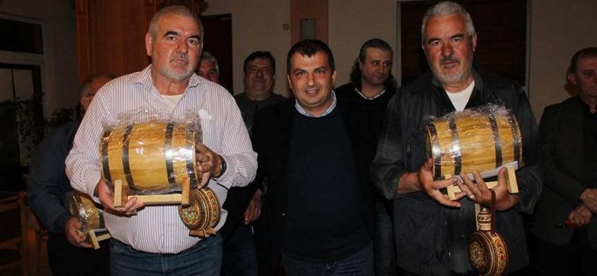 В Септември: Наградиха победителите в надпреварата за най-добро вино