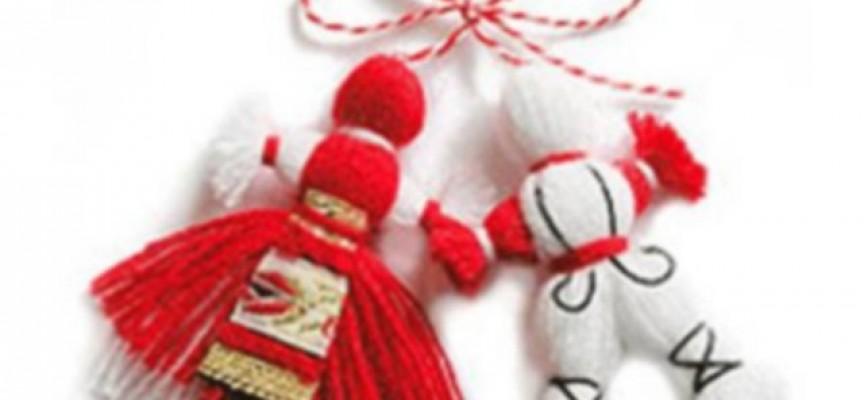 Честита Баба Марта! Бели и червени, румени, засмени!