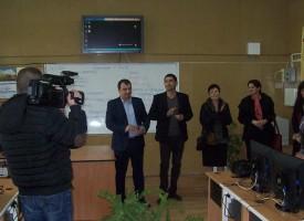 """В Септември: Откриха официално новият компютърен кабинет в СОУ """"Христо Ботев"""""""