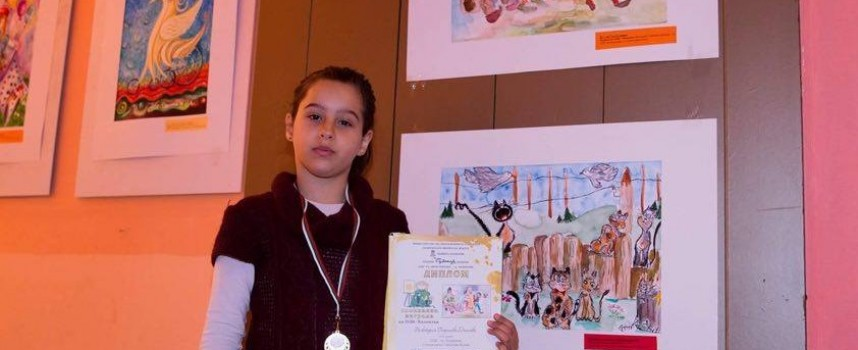 """В Казанлък: Наше дете с награда от """"Малките нашенци"""""""