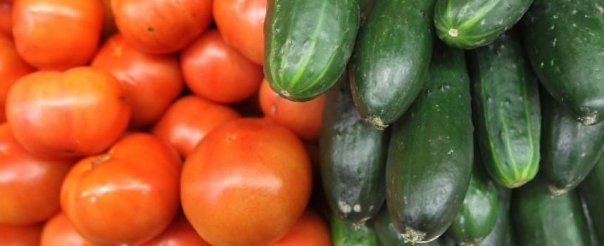 Цените на зеленчуците тръгнаха нагоре, доматите по 4.50 лв. за килограм