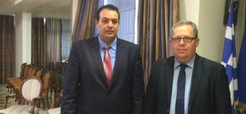 Сътрудничество в сферата на туризма и бизнеса обсъдиха областните управители на Пазарджик и Кавала