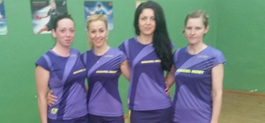 """Женският отбор на """"Асарел Медет"""" твърдо на втора позиция във Висшата лига по тенис на маса"""