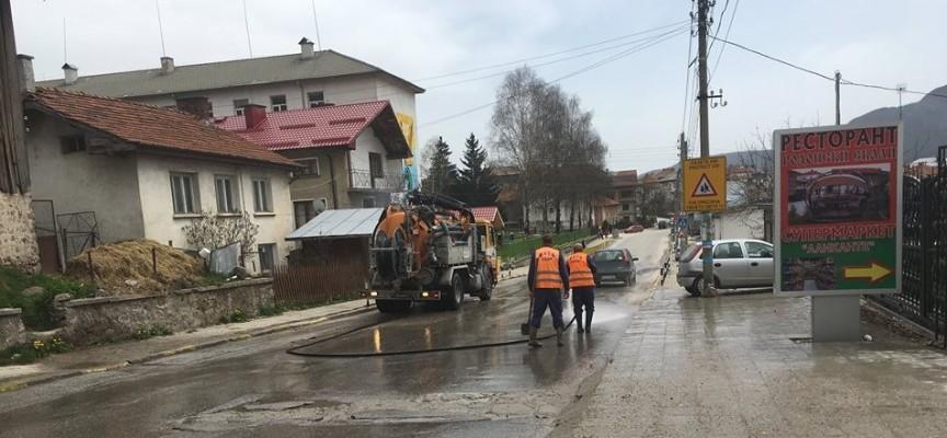 В Сърница: Тече пролетно почистване