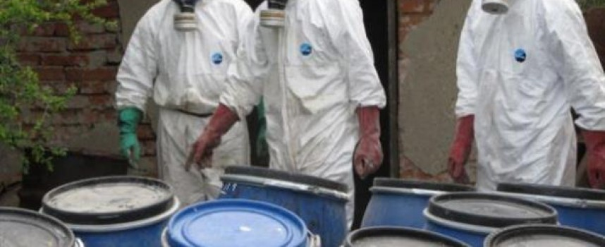 При проверка: Откриха около 12 тона отровни пестициди в неохраняем склад