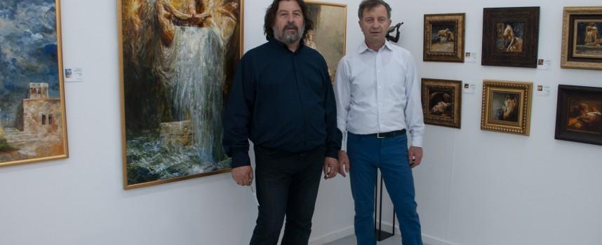 Група пазарджишки художници с изложба в Базел