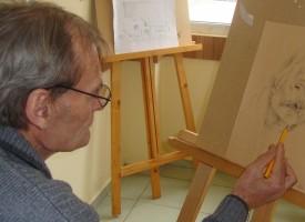Пазарджишкият Ван Гог стана член на Дружеството на пазарджишките художници