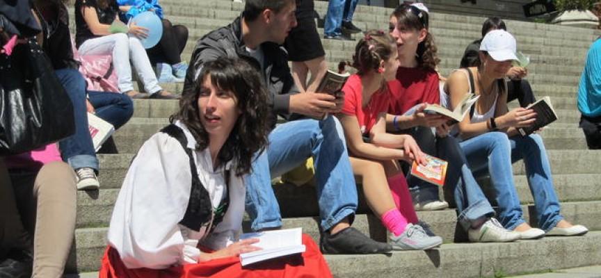 В петък: С флашмоб бележим Международния ден на книгата, ела и ти