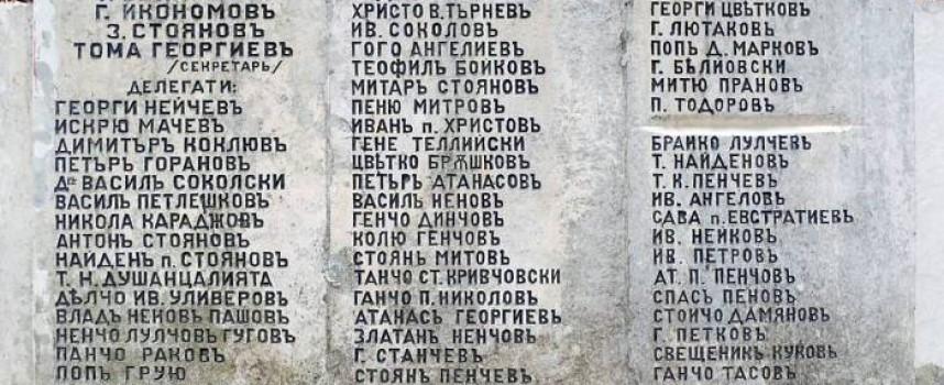Читателска връзка:Срамно отношение към светините, паметникът в местността Оборище тъне в немара