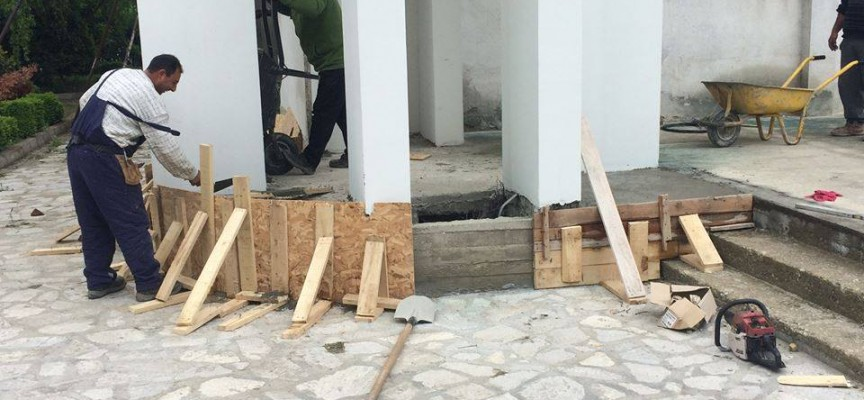 """В Септември: Стартираха строителните работи в църквата """"Св. цар Борис-Михаил"""""""