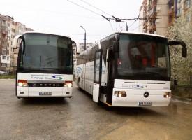 """13 тонен автобус на обществения превозвач """"Хебър Бус"""" влиза в състезанието в подкрепа на Славянка"""