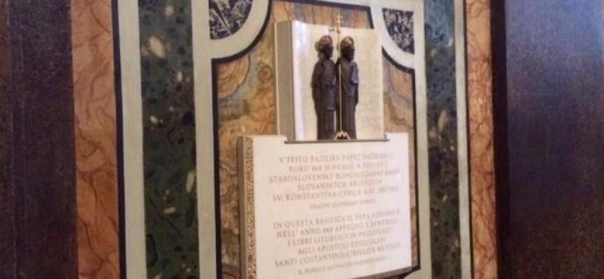 """В Рим: Българската диаспора отбелязва деня на светите равноапостоли в """"Санта Мария Маджоре"""""""