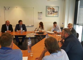 Кметът на Стрелча бе в Брюксел за среща с инвеститори в СПА туризма