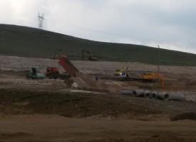 6 месеца след първата копка работят по Депото и през почивните дни