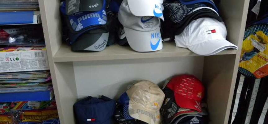 2033a70c7fc Иззеха шапки менте в Панагюрище. Панагюрски полицаи иззеха нелегално  търгувани маркови спортни стоки ...
