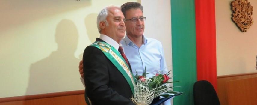 От днес: Атанас Чолаков е новият Почетен гражданин на Пазарджик
