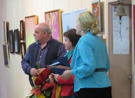 """Откриха Пролетния салон в галерия """"Георги Машев"""" и връчиха наградите"""