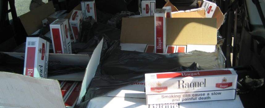 1240 литра алкохол и 9921 къса цигари иззе полицията от Братаница, Панагюрище и Ракитово