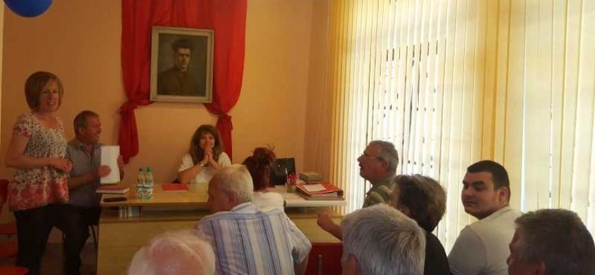 Йордан Младенов бе преизбран за шеф на Областната организация на БСП, Йотова посети Пещера и Брацигово