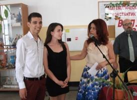 Математическата гимназия връчи дипломите на завършилите