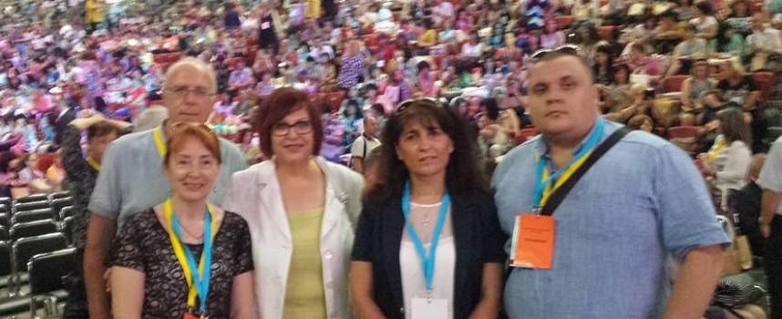Депутат Бойка Маринска е гост на Учителския събор, вдигат заплатите на учителите