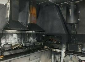 В Мененкьово: Щъркелите на покрива на читалището са изгорели заедно с гнездото си