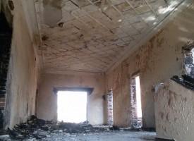 Държавата отпусна 70 000 лв. за изгорялото читалище в Мененкьово