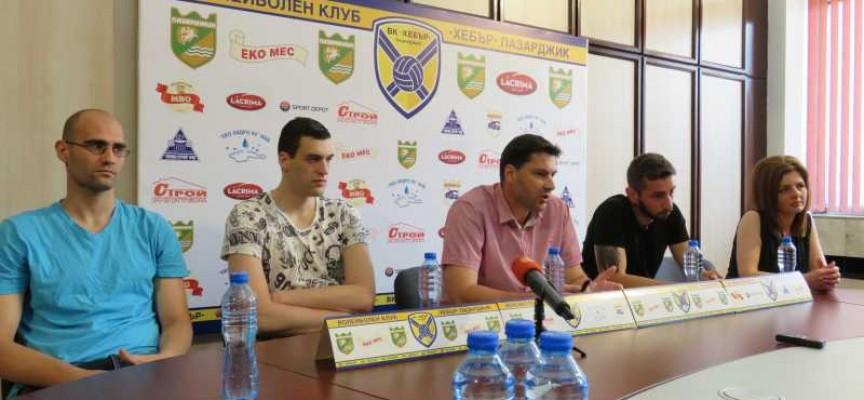 """Лицата на ВК """"Хебър"""": Евгени Григоров, Петър Бъчваров и Васил Атанасов"""