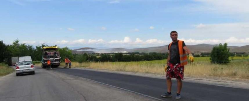 Ремонтират пътя между Радилово и Пазарджик