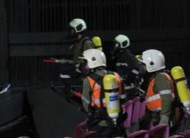 """На връх Петровден: Пожарникари """"гасиха"""" Театъра"""