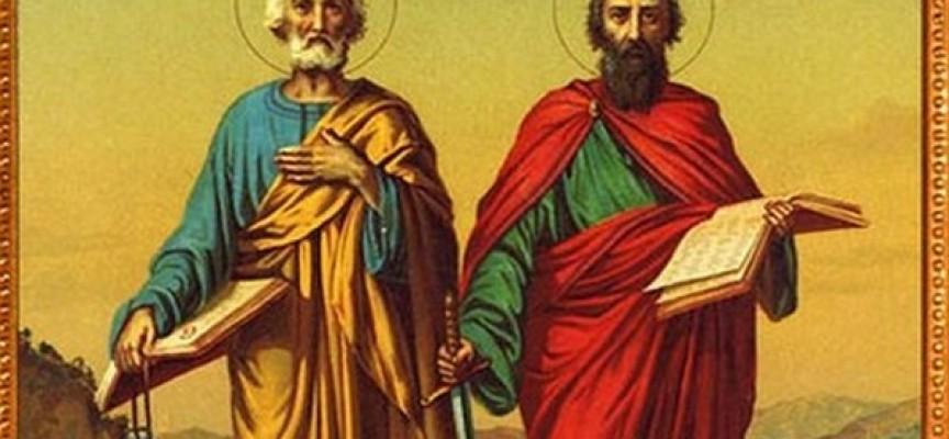 Почитаме днес Петър и Павел