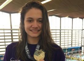 В Лондон: Златен медал за Камелия Стоименова на 50 метра бруст