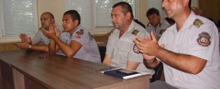 За празника на МВР: Комисар Панайотов връчи награди на пожарникари и спасители