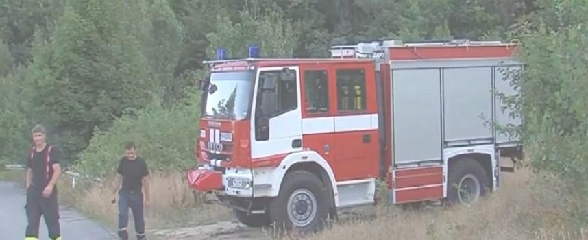 Пожар вилня край Аканджиево, вече е потушен