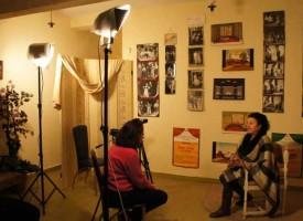 Валентина Фиданова – Коларова и Евгени Попов с филм за велинградско читалище