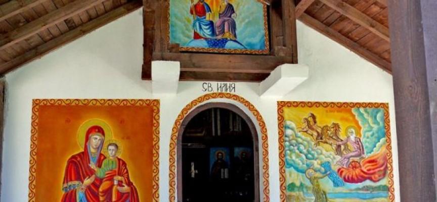 Най-новият параклис на Св. Илия е край Велинград