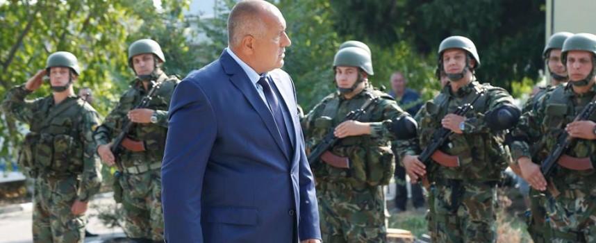 Борисов видя полигона в Црънча и отпусна 3 милиона
