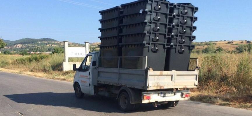 Ветрен: Нови контейнери за смет раздадоха в града