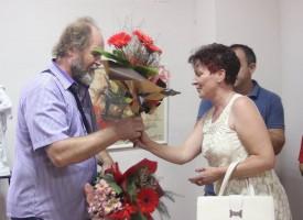 Във Ветрен: Откриха първа изложба на проф. Стефан Лютаков