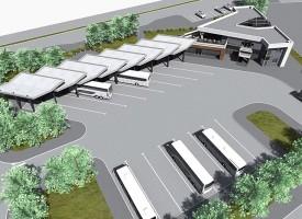Утре: Първа копка на търговски център и бензиностанция до новата Автогара