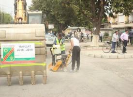 В Септември: Направиха първа копка за подмяна на водопровода по Главната