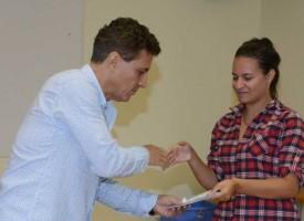 4 деца от Органа по настойничество получиха подарък в навечерието на 15 септември